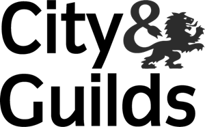 city and guilds logo greyscale